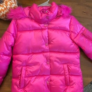 NWOT's Justice size 12/14 puffer coat